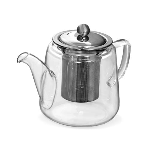 chaleira com infusor para chá