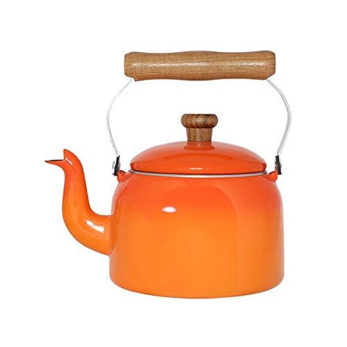 chaleira laranja