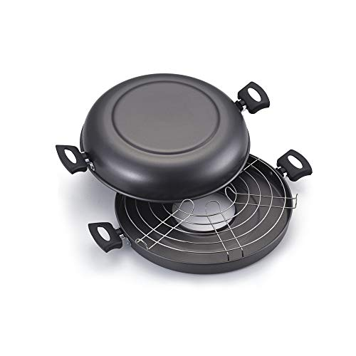 churrasqueira quadrada com fogão a lenha