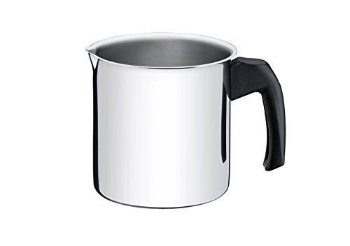 leiteira grande com tampa de vidro