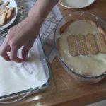 Pavê de biscoito de maisena simples
